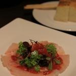 イルピノーロ スカイテラス - 真鯛のカルパッチョ