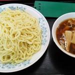 丸長 - 丸長@つくば つけ麺 メンマ入り・大盛り