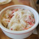かに道楽 - ご飯用の蟹