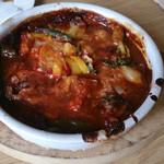54801306 - 季節の野菜を使った煮込みハンバーグランチ  1490円(税込)