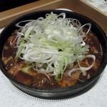 54803138 - 肉鍋・ねぎたっぷり