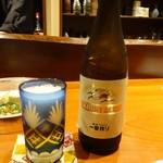 和菜蔵 椿屋 - 瓶ビール