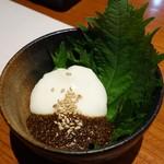 和菜蔵 椿屋 - もっちりクリーミー豆腐378円