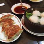 香蘭 - 焼き餃子&海老蒸餃子