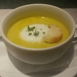 54804477 - さつま芋と南瓜の冷製スープ