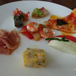 ラ ヴェラ - 前菜1皿目。