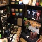 八女茶販売・喫茶 伽藍堂 - 店内