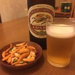 うえだ - ビール500円