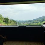 54807532 - 窓からは農村風景