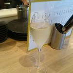 バル014 馬場ワイン食堂 - シャンパンで開宴
