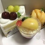 シェ・ヒロダン - ケーキ4種