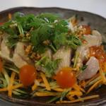 54810719 - タイの茹で鶏(カオマンガイ単品)