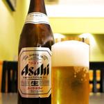 やぶそば - ビールはアサヒです! \(^_^)/