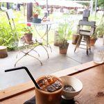 ミオン ガーデンカフェ - Dessert Setにセットのアイスカフェオレ 2016/08