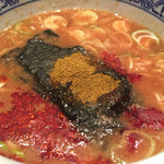 三田製麺所 - 「灼熱」のスープ