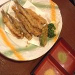 さかな市場 - いわしの天ぷら