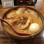 54813453 - 北海道味噌 味噌漬け炙りチャーシュー麺 (卵トッピング)