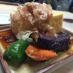 中村屋 - 揚げ出し豆腐