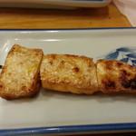 かぶら屋 - 鮭ハラス串焼100円