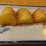 かぶら屋 - 野菜串揚げからじゃがバター80円