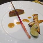創作和食・銀座 KUSHIMA - フォアグラ西京焼き 焼き松茸