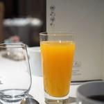 レ セゾン - フレッシュオレンジジュース
