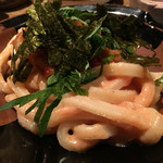 たま商店 - タラコとキムチの皿うどん