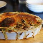 レ リーサ 笑顔 - 牡蠣とほうれそうのグラタン