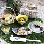 味ごよみ宮田 - 料理写真:夏の大洗ならではの魚貝料理