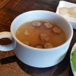 シュラスコB - セットのスープ