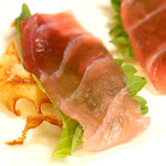 居酒屋 ハイスピリッツ - 一口おつまみ マグロと蓮根チップス