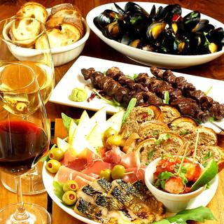 ソムリエ厳選ワインと、お料理のマリアージュ!