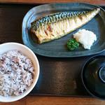 54825959 - サバの塩焼き定食(680円税込)