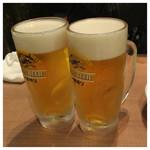 じらい屋 - 2016.2  生ビール タイムサービスで280円