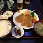 日本料理 はら田 - 地鯵フライ定食
