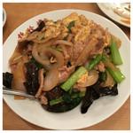 錦珍楼点心舗 - 2016.2  豚肉とキクラゲ玉子炒め 750円