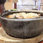 和牛カルビ屋 朱苑 - ユッケジャン温麺(ミニ)