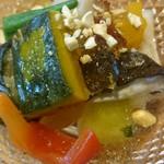 いし川 - 夏野菜炊き合わせ