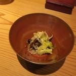 ながずみ - 椎茸とレタス