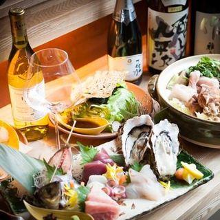和の職人が造る日本酒に合う、日本酒を使ったこだわりのお料理♪