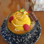 Sweets+Cafe' しゅくる - 160814かぼちゃプリン(480円)