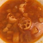 フーターズ - スープ セルフで