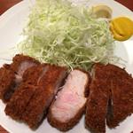 ふく屋 - 料理写真:ロースかつ単品 ¥1,500