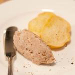 クニオミ - 自家製豚肉のリエット 久々のリエットです(*^^*)美味い