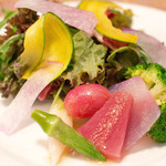 クニオミ - 長野県の有機野菜を使ったボイルサラダ