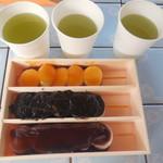 郭公屋 - 3種類 お茶付き
