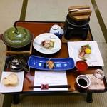 道後温泉 八千代 - 料理写真:夕食