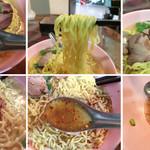 TAI THAI - あっさりコク深いスープに歯切れの良い麵固めのチャーシュー 唐辛子にナンプラーinすると咽るほどで完什