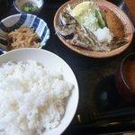 季節料理 べん作 - 黒むつ塩焼き定食