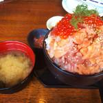 54841279 - 漁師の漬け丼